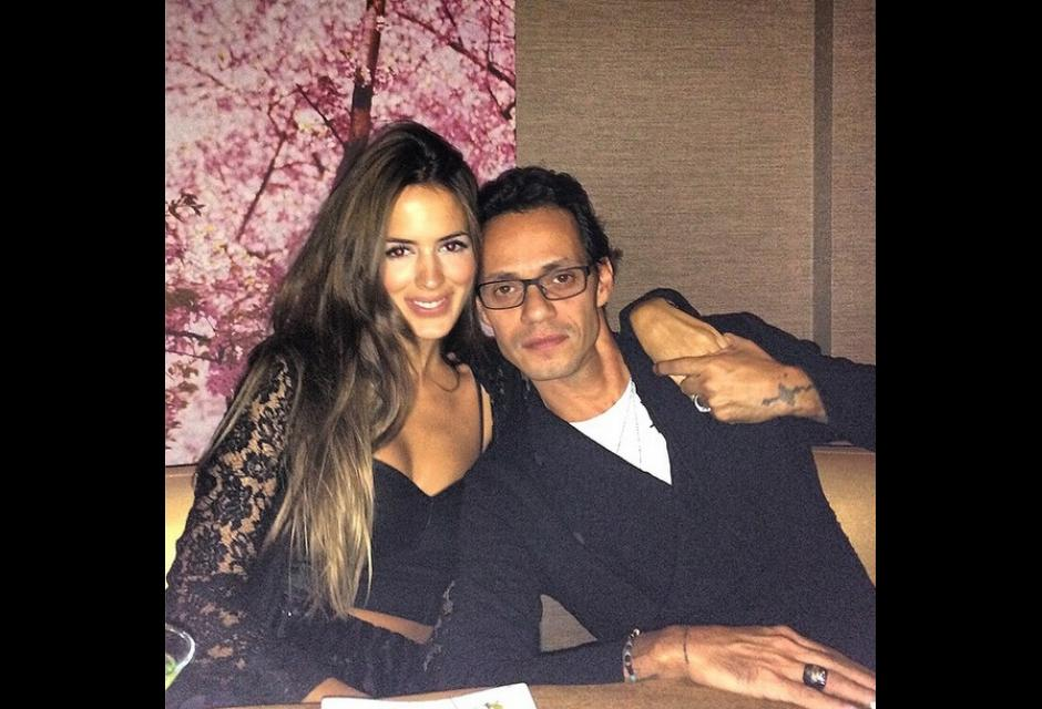 Shannon y Marc Anthony
