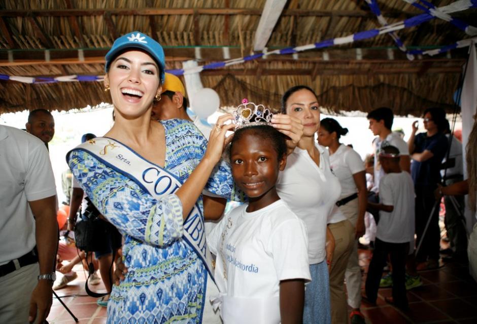 Visita a la Fundación Dones de Misericordia. paulina vega dieppa