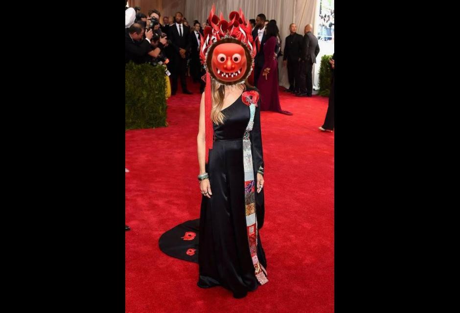 Memes del vestido de Sarah Jessica Parker.
