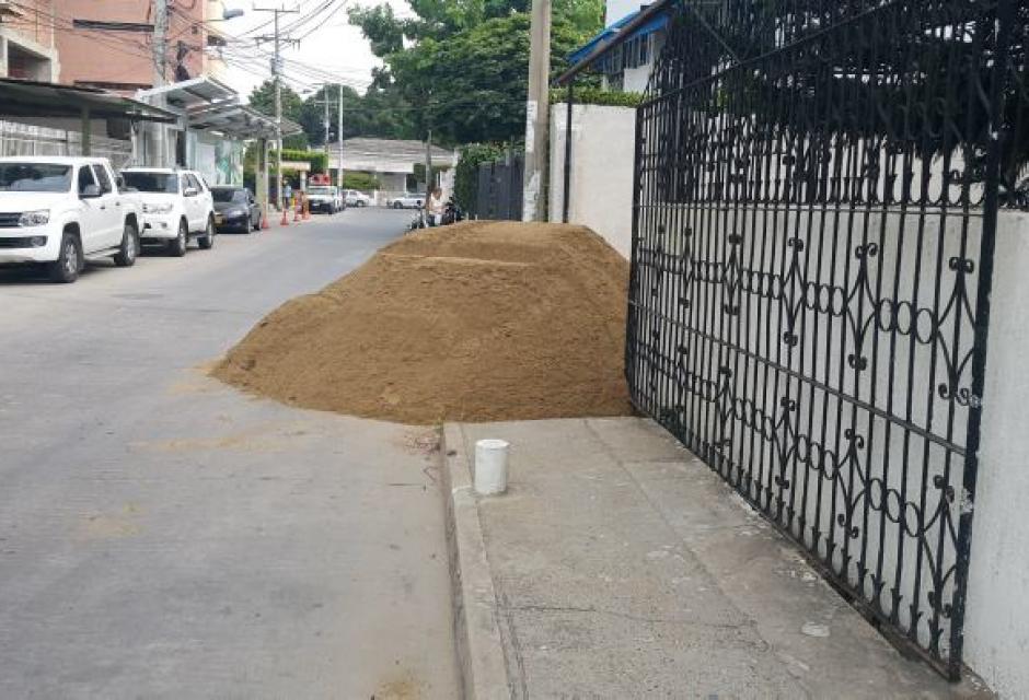 Obras Calle del Bouquet