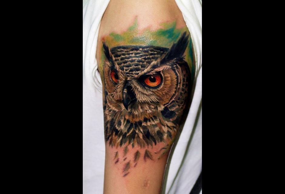 Tatuaje de Alan Ramírez.