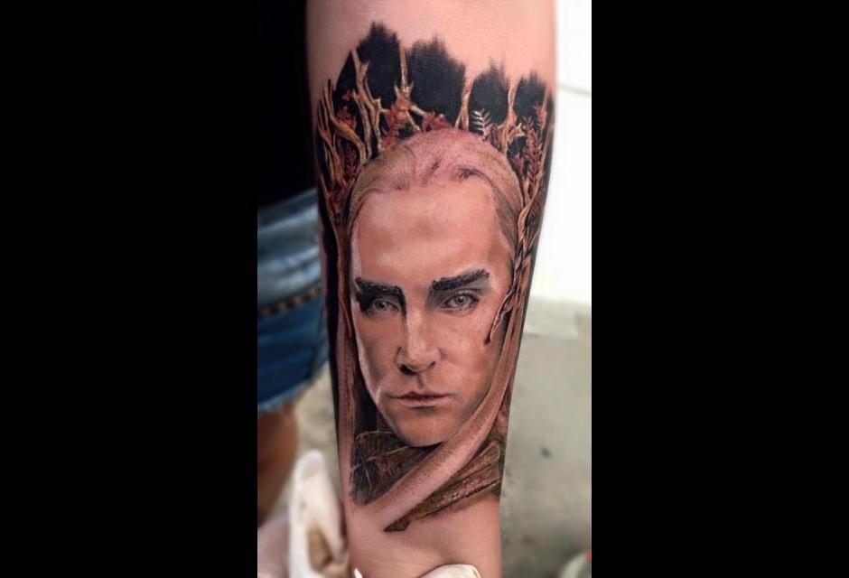 Tatuaje de Camilo Olarte.