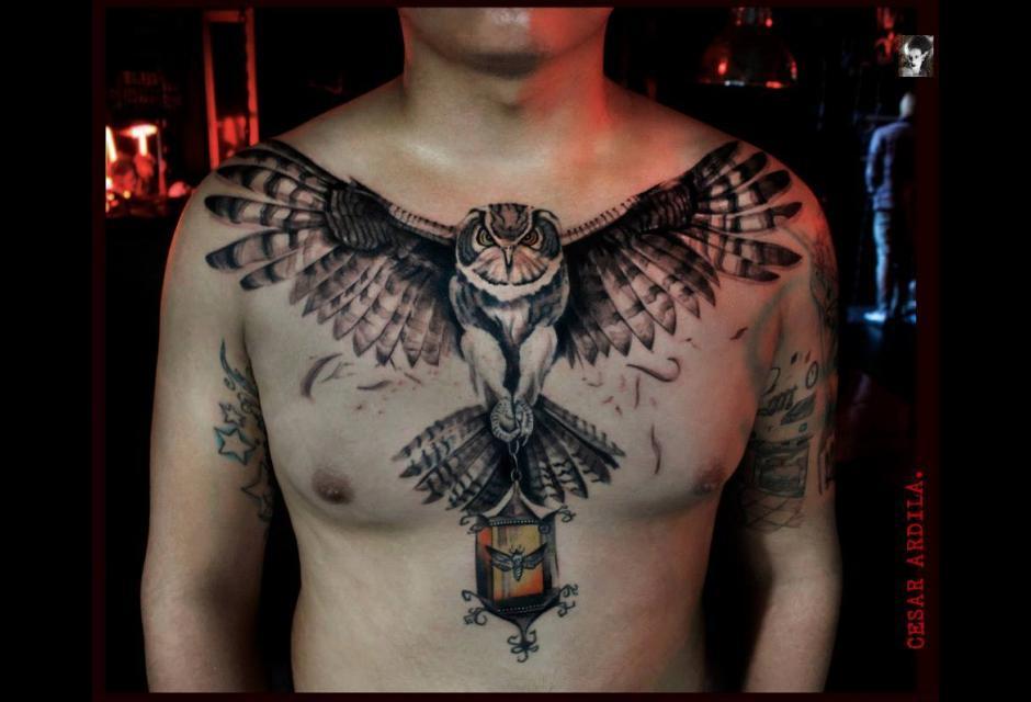 Tatuaje de Cesar Ardila.
