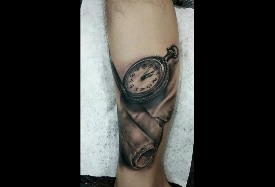 Tatuaje de Chiclayo Calderón.