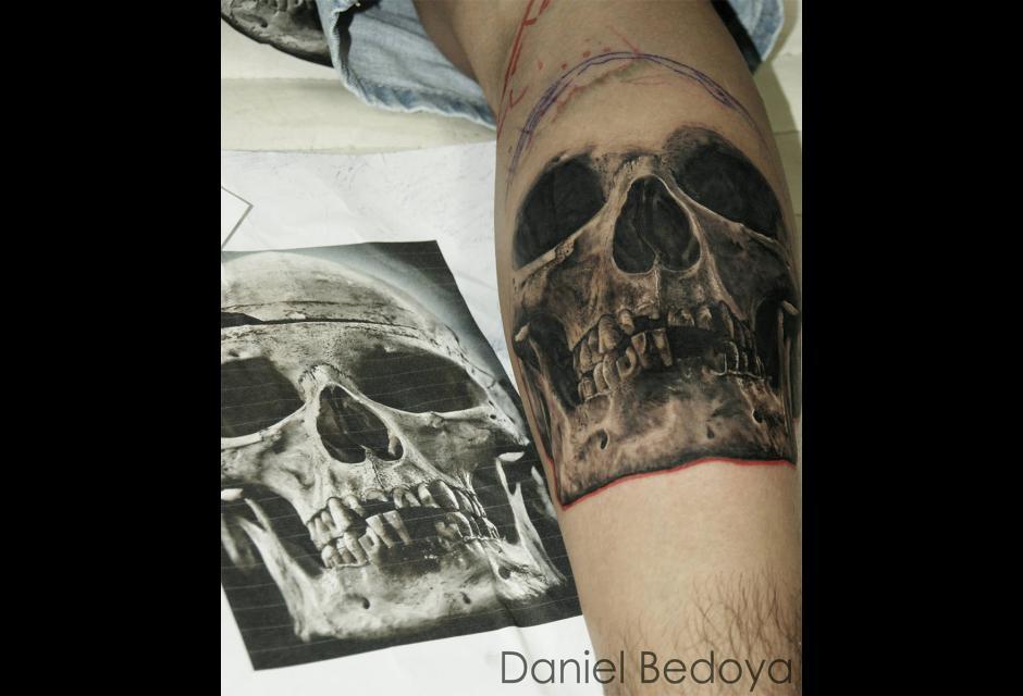 Tatuaje de Daniel Bedoya.