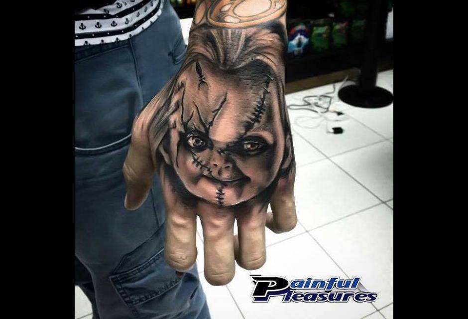 Tatuaje de Edwin Ramírez.