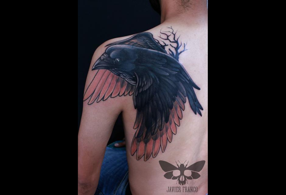 Tatuaje de Javier Franco.