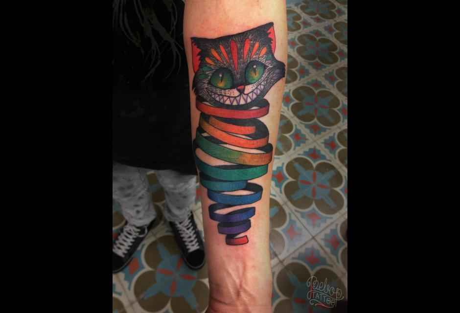 Tatuaje de Karolina Bebop.