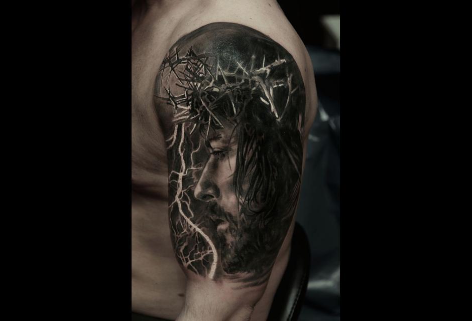 Tatuaje de Kory Angarita.