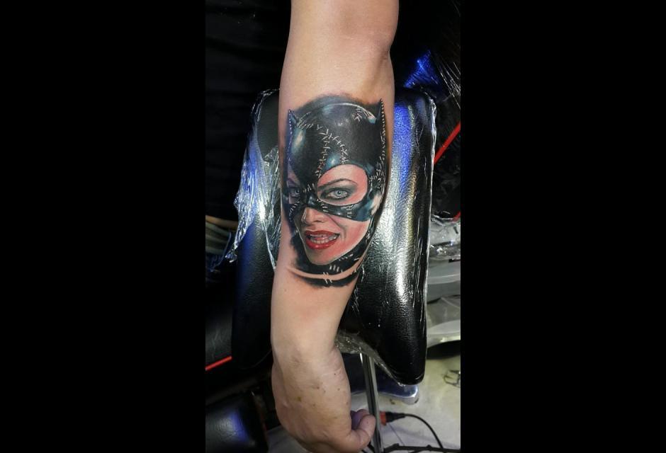 Tatuaje de Ronald Horta.
