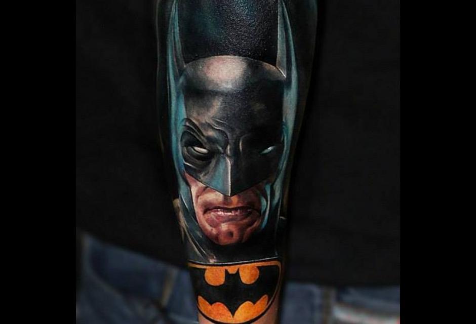 Tatuaje de Carlos Angarita.