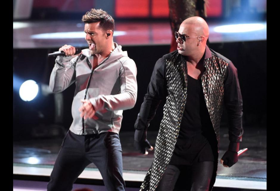 Ricky Martin y  Wisin con