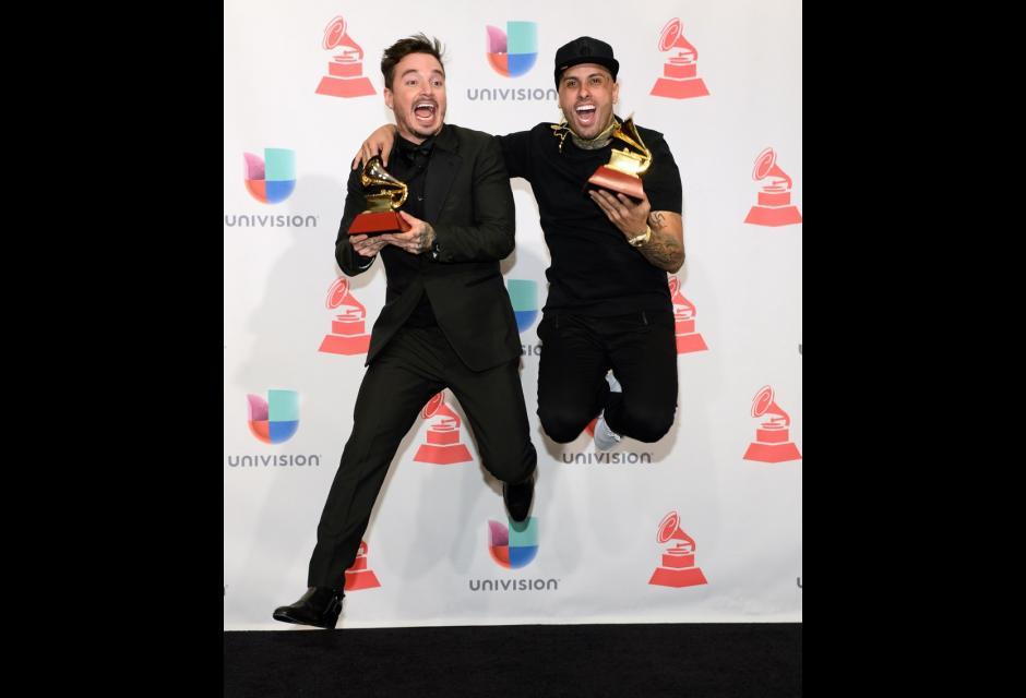 J Balvin y Nicky Jam. latin grammy 2015
