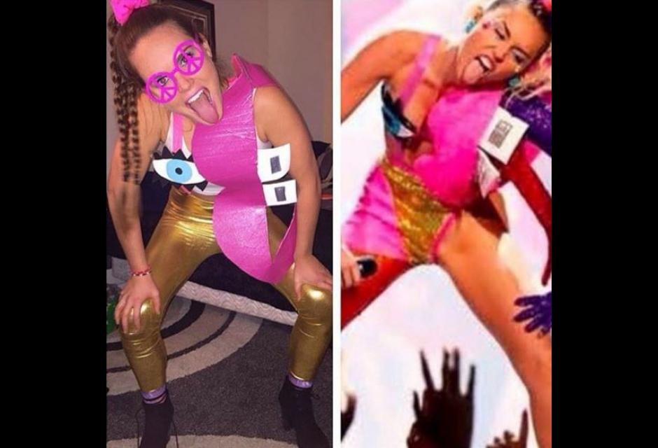 disfraces halloween miley cyrus