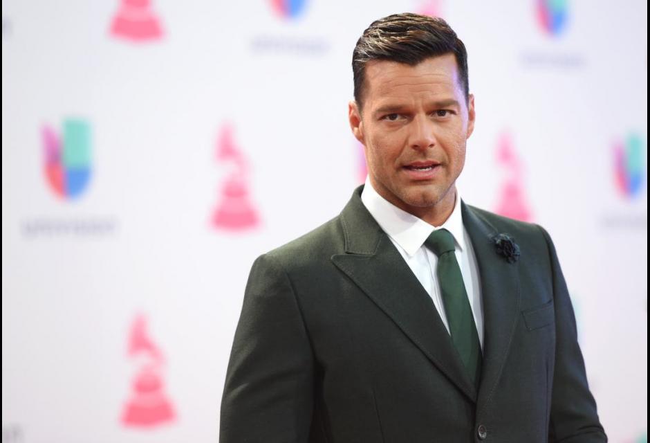 Ricky Martin. latin grammy 2015