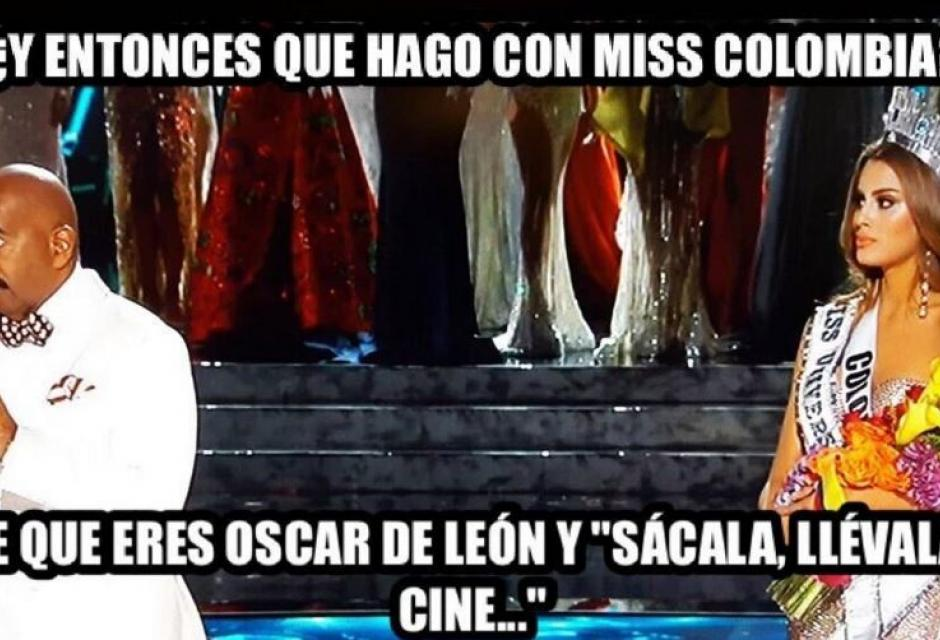 memes miss universo 2015 colombia filipinas
