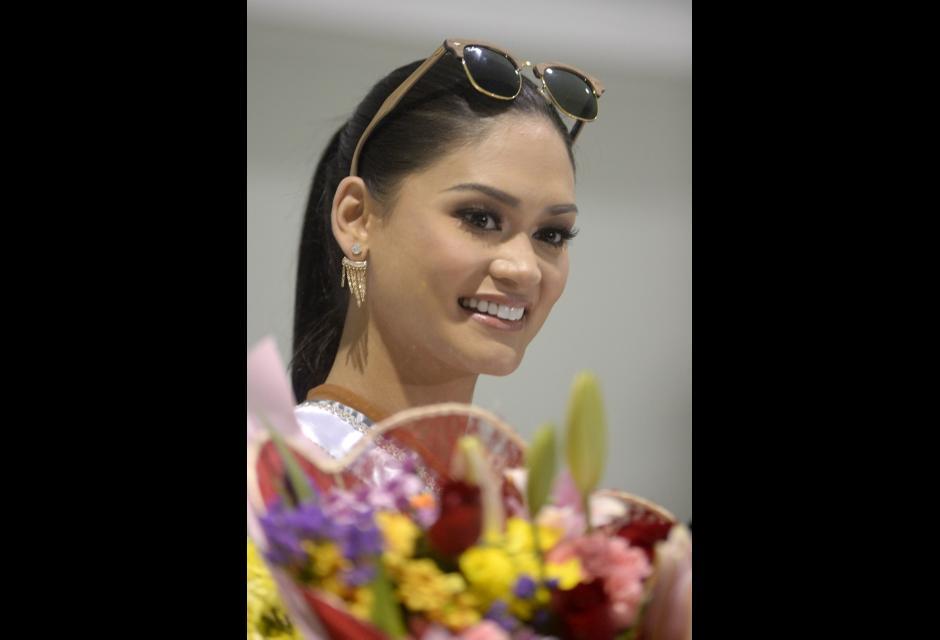 Pia Alonzo Wurtzbach, Miss Universo.