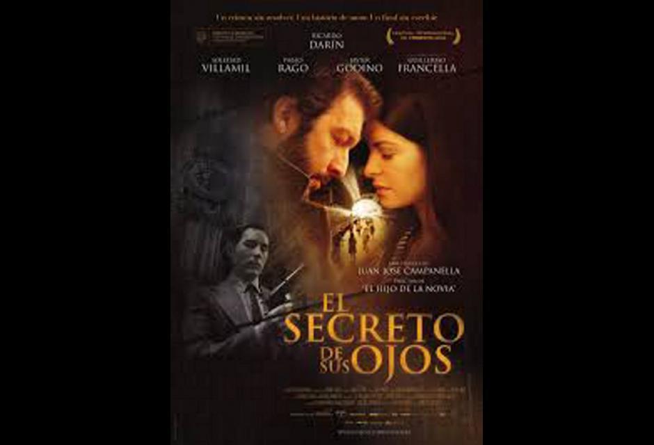 El secreto de sus ojos ganadora del Oscar 2009. Esta cinta argentina de drama y suspense está dirigida por Juan José Campanella. Imagen: Fotogramas.