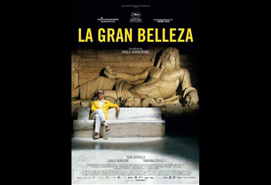 La Grande Belleza, del director italiano Paolo Sorrentino, consiguió el Oscar en 2013.Imagen: Fotogramas.