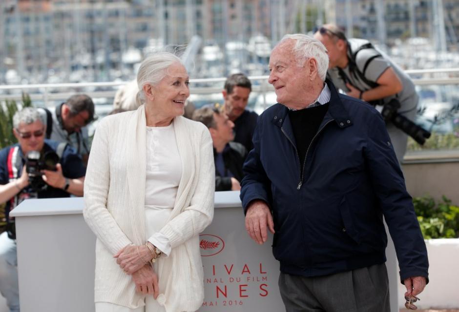 Vanessa Redgrave y Jim Ivory.
