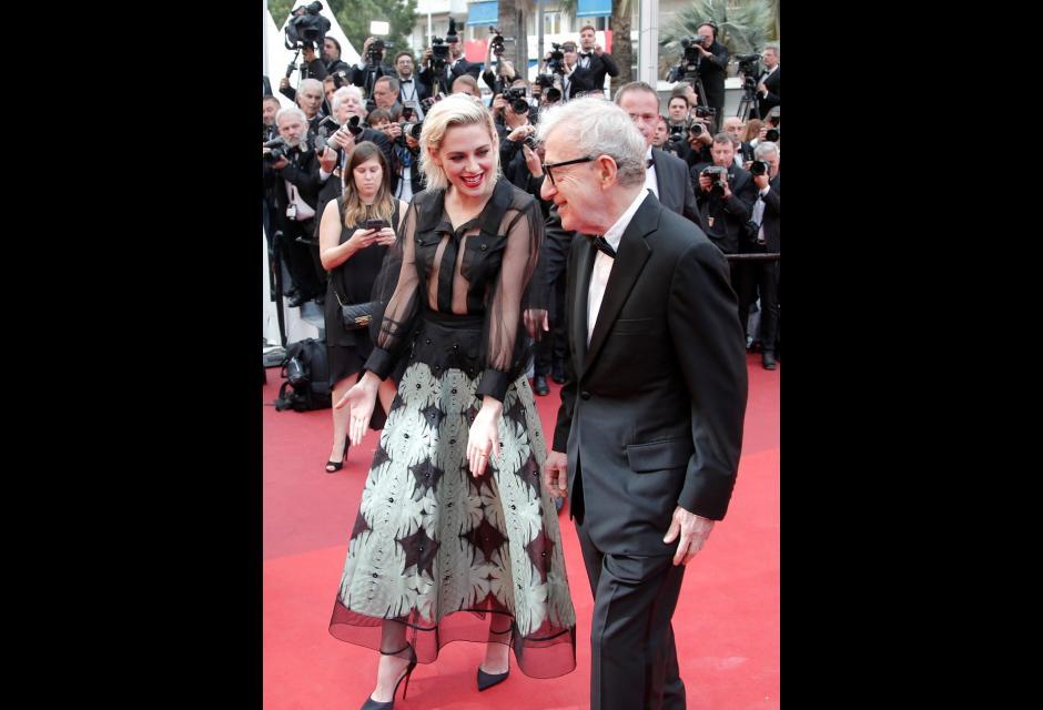 Kristen Stewart y Woody Allen.