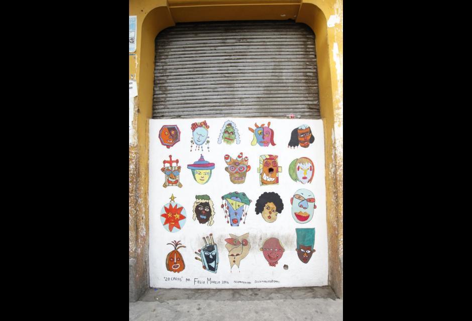 GRAFITIS EN CARTAGENA GETSEMANI Y TORICES