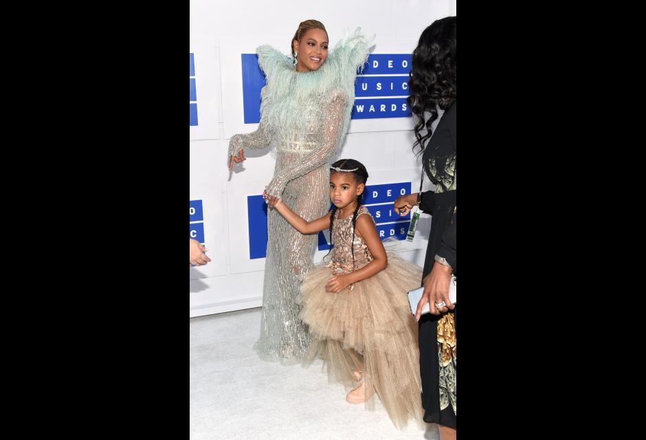 Beyoncé y su hija Blue Ivy.