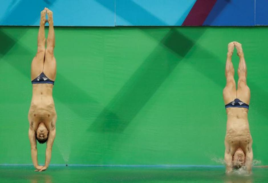 Jack Laugher y Chris Mears.