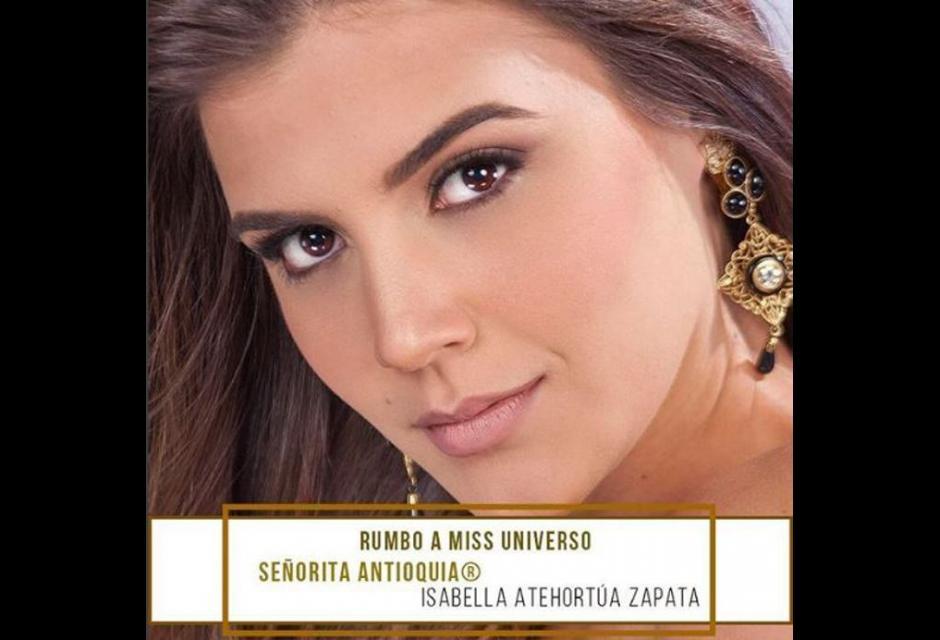 Señorita Antioquia - Isabella Atehortúa
