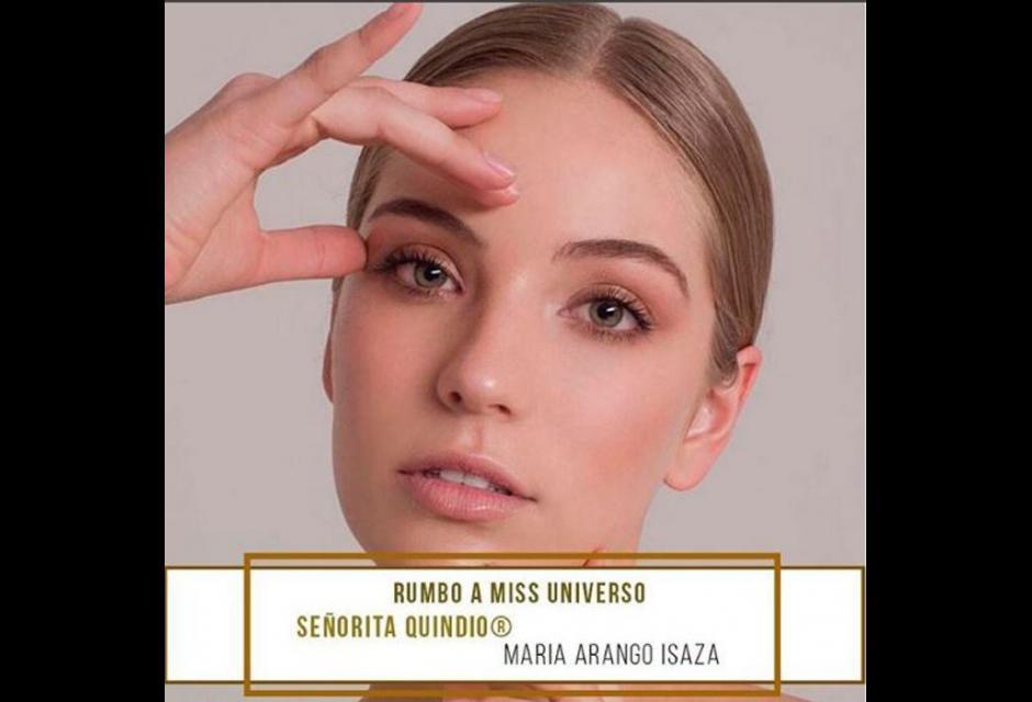 Señorita Quindío  - Maria Andrea Arango Isaza.
