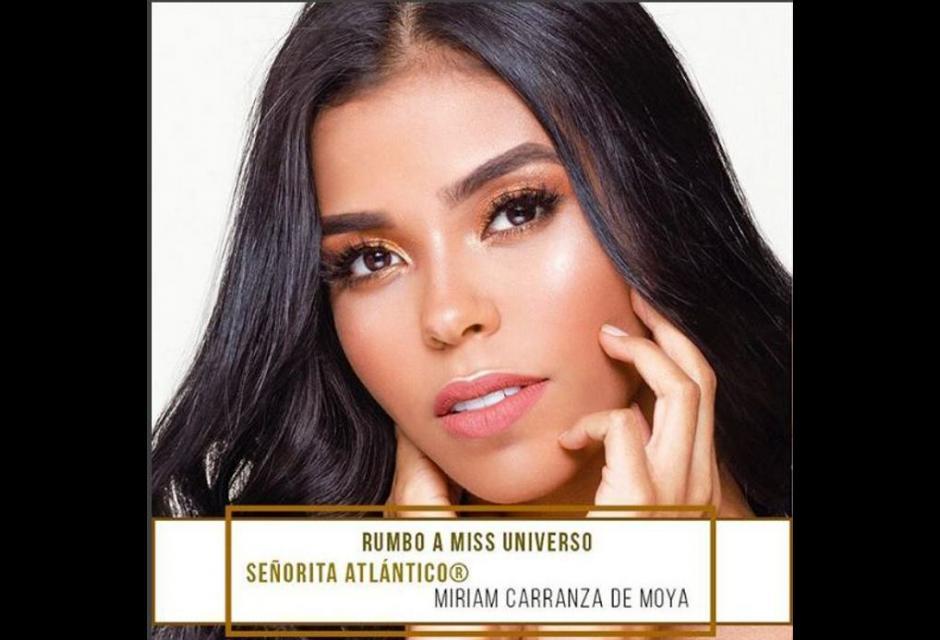 Señorita Atlántico - Miriam Isabel Carranza de Moya