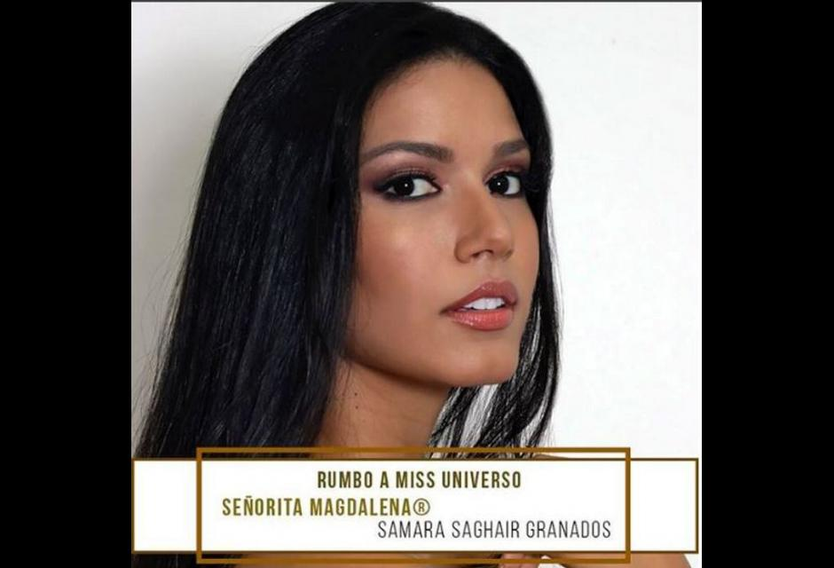 Señorita Magdalena  - Samara Saghair Granados.
