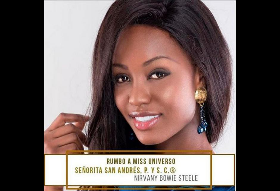 Señorita San Andrés, Providencia y Santa Catalina - Nirvany Natasha Bowie Steele.