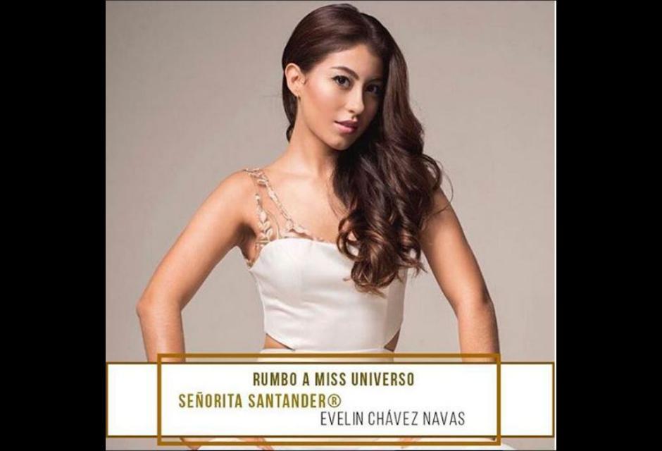 Señorita Santander - Evelin Julieth Chávez Navas