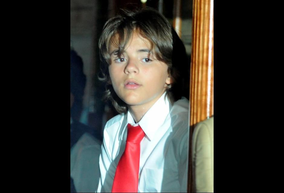 El hijo mayor de la estrella del pop, Prince Michael Jackson, de 12 años.