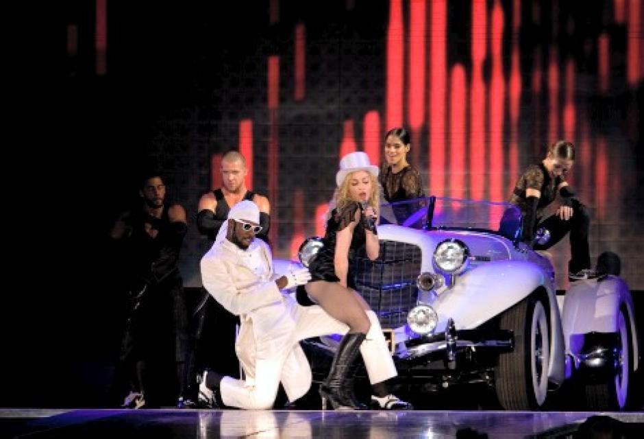 Madonna hipnotizó al público.