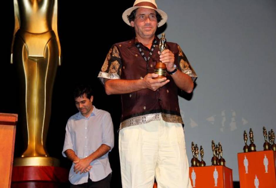 Todos los galardonados por el Ficci se mostraron emocionados al recibir su estat