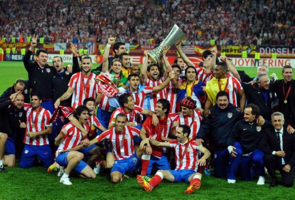 Con dos goles de Radamel Falcao y uno de Diego Ribas, el Atlético de Madrid se i