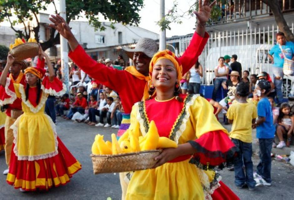 Grupo Cumbali de Cartagena.