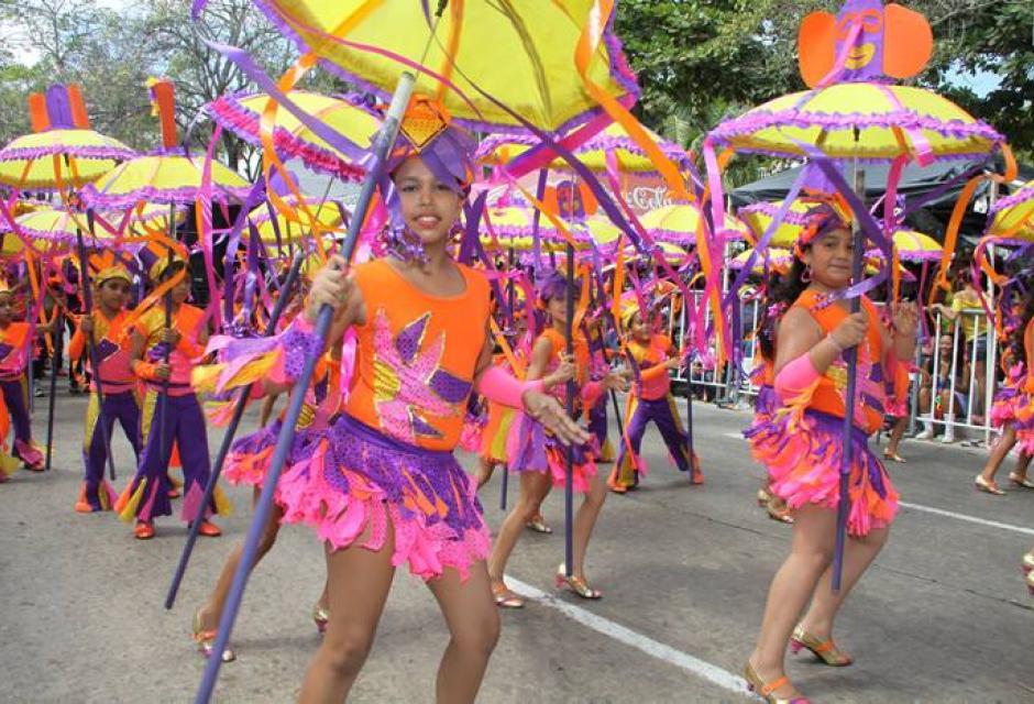 Los niños también tienen su carnaval en Barranquilla