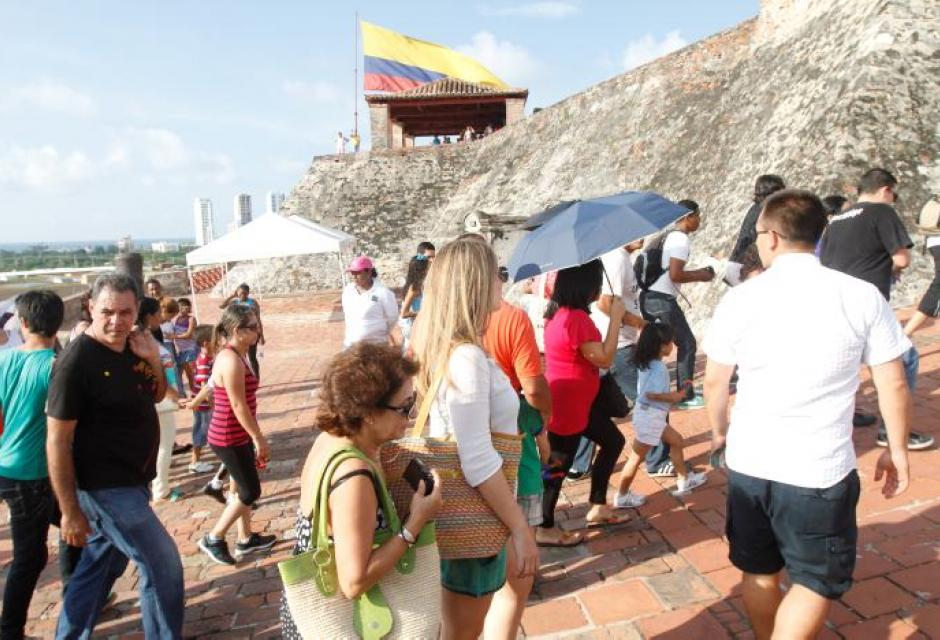 Castillo San Felipe de Barajas.