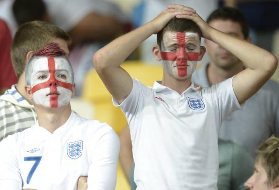Inglaterra en la Eucoropa 2012
