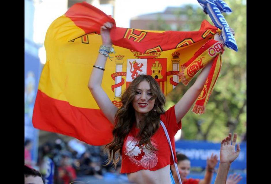 España Campeón de la Eurocopa