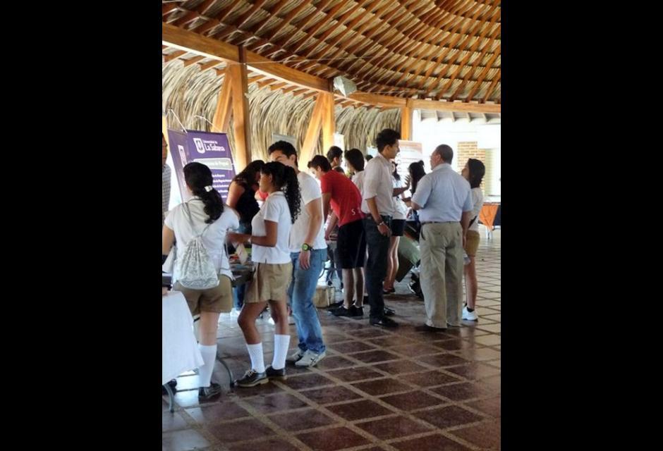 Feria de Universidades Colegio Británico de Cartagena.