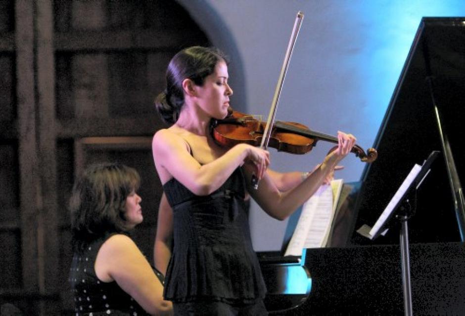 La violinista, Jennifer Frautschi