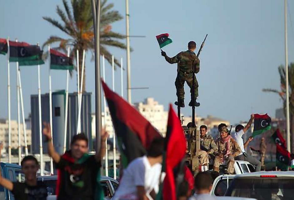 Trípoli se libera hoy  tras 42 años bajo el régimen de Gadafi