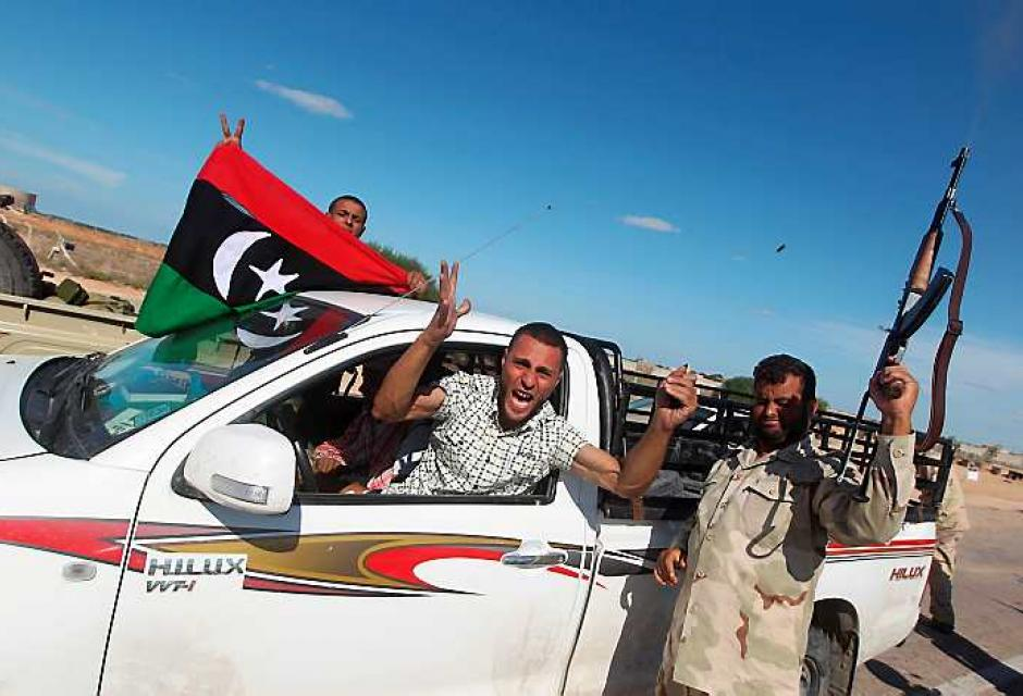La rebelión comenzó hace ocho meses y hoy los libios celebran