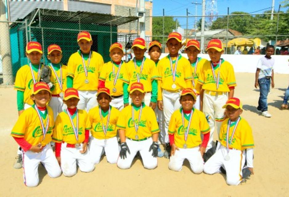 Equipo Cartagena Amarillo ocupó el tercer lugar en la categoría Preinfantil.