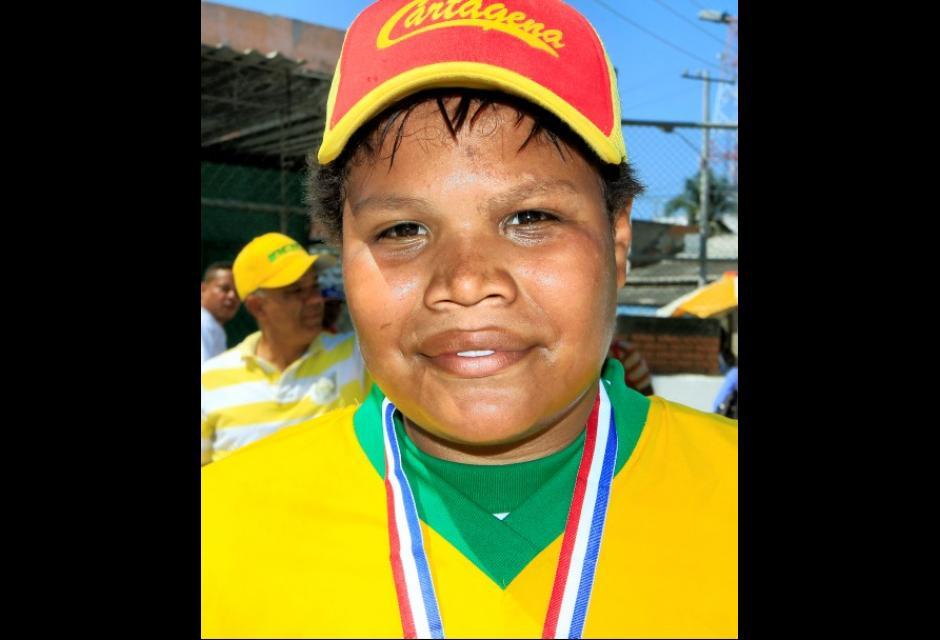 Jesús María Villalobos, el jugador más valioso en la categoría Infantil.