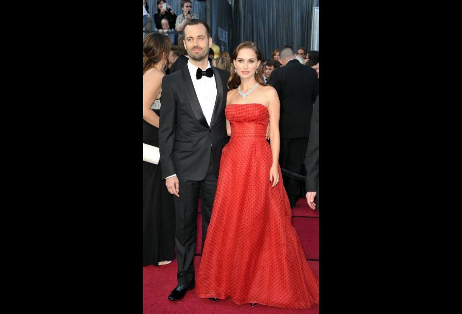 Natalie Portman y su esposo Benjamin Millepied